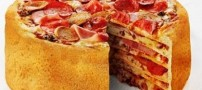 تا حالا پیتزای 5 طبقه دیده بودید؟ (عکس)