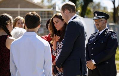 سوء قصد یک مرد به عروس ملکه انگلیس! (عکس)