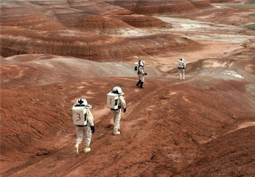 تصاویری جذاب و دیدنی از زندگی در کره مریخ