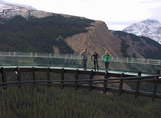 مکانی هیجان انگیز برای گردشگران در کانادا (عکس)