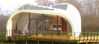 ساخت خانه پارچه ای با انرژی خورشیدی (عکس)