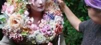 تصاویری از یک زن بسیار زیبای جنگلی