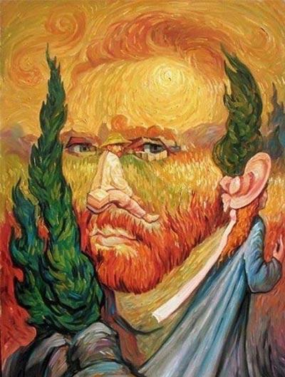 تصاویری جدید و بسیار جالب از خطای دید در نقاشی