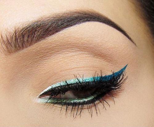 چند مدل بسیار زیبا از آرایش چشم و ابرو (عکس)