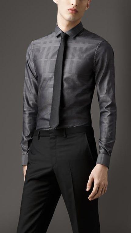 نمونه مدل های زیبا از پیراهن مجلسی مردانه (عکس)