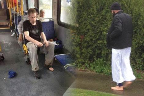 اقدام بسیار فداکارانه این مرد مسلمان سوژه شد (عکس)