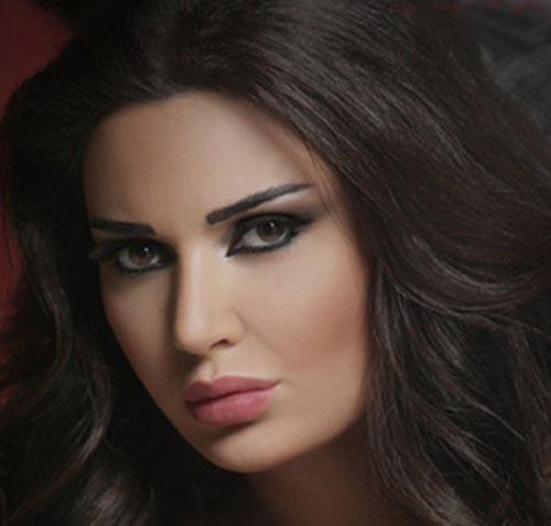 عکس هایی جذاب از زیباترین زن لبنانی