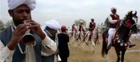 تصاویری از عروسی پر زرق و برق در پاکستان