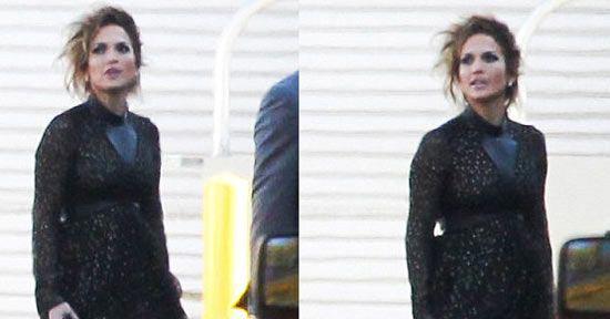 جنفیر لوپز این بار با مدل موی جدید (عکس)