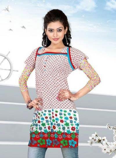 مدل سارافون دخترانه بهاری (عکس)
