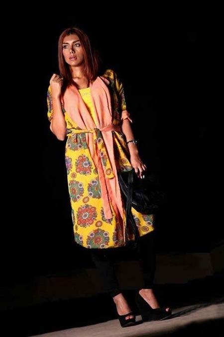 مدل مانتو زیبای بهاری برند کوک 2014 (عکس)