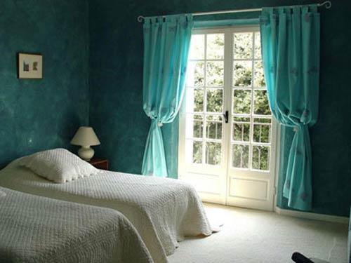 مدل های ساده و شیک پرده اتاق خواب (عکس)