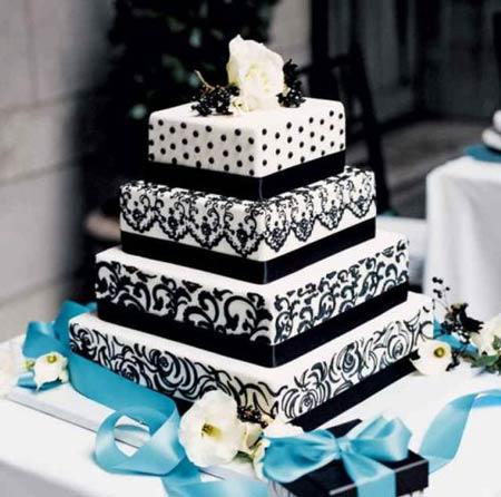 مدل های جدید کیک عروسی (عکس)