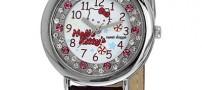 مدل ساعت مچی شیک دخترانه به رنگ بنفش (عکس)