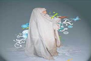 حکم علما برای انداختن چادر روی صورت در نماز