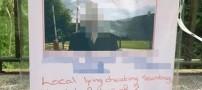 خانمی که با پخش پوستر آبروی شوهرش را برد (عکس)