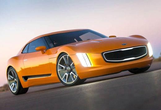 تصاویری از مدل اتومبیل اسپرت و زیبای کیا