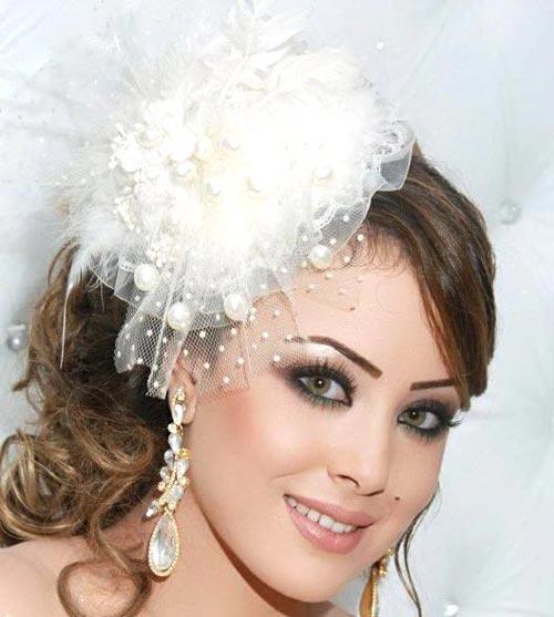 مدل آرایش بسیار زیبا به سبک خلیجی (عکس)