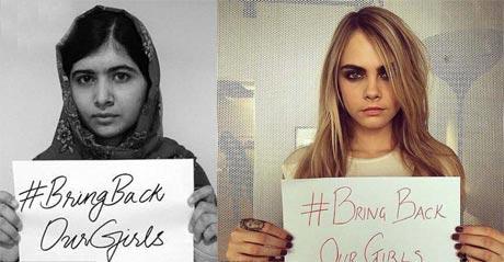 تلاش افراد مشهور برای آزادی دختران ربوده شده