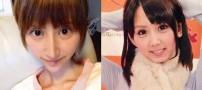 جراحی زیبایی حیرت انگیز بازیگر زن ژاپنی (عکس)