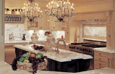 دکوراسیون آشپزخانه، اتاق خواب، سرویس حمام (عکس)