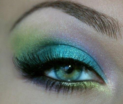 مدل آرایش جدید و بسیار زیبای چشم و ابرو (عکس)
