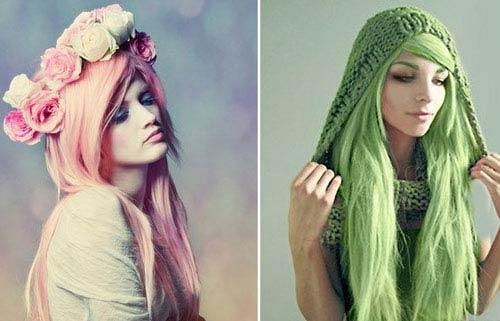 نمونه هایلایت های فانتزی زیبا برای خانم ها (عکس)