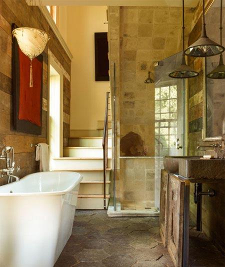 طراحی دکوراسیون خانه با سنگ های زینتی زیبا (عکس)