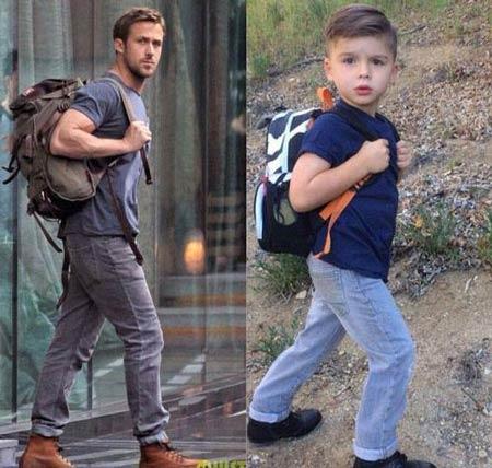 تصاویری جالب و دیدنی از پسر 4 ساله مدلینگ