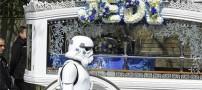 اقدام جالب پدر برای تشیع جنازه پسر خود! (عکس)