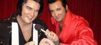 شباهت جالب بازیگر ایرانی با خواننده آمریکایی (عکس)
