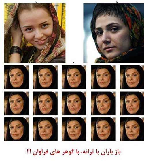 شوخی بامزه کامبیز دیرباز با 3 بازیگر زن سینما (عکس)