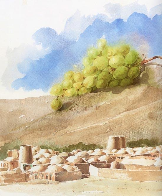 مجموعه ای از نقاشی های ماندگار علی اکبر صادقی