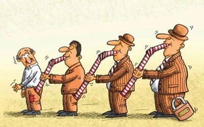 عکس کاریکاتورهای مفهومی جالب و دیدنی