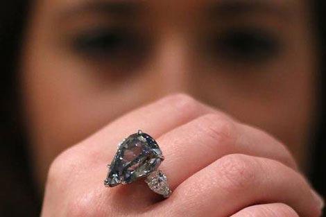 تصاویری از زیباترین انگشتر زنانه در جهان