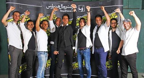 تصاویری از کنسرت فرزاد فرزین با حضور هنرمندان
