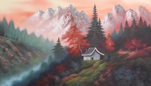 تصاویری از نقاشی های هنری بسیار زیبا و دیدنی