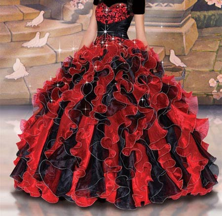 مدل لباس نامزدی پرنسسی بسیار شیک و زیبا (عکس)