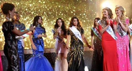 انتخاب یک دختر ایرانی به عنوان دختر شایسته (عکس)