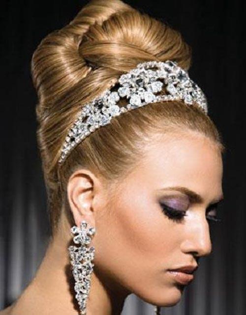 مجموعه ای از مدل شینیون شیک عروس (عکس)