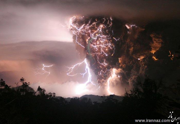 عکسهای تکان دهنده از مهمترین فجایع طبیعی جهان