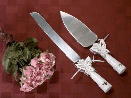 تزئین شیک و بسیار زیبای چاقوی عروسی (عکس)