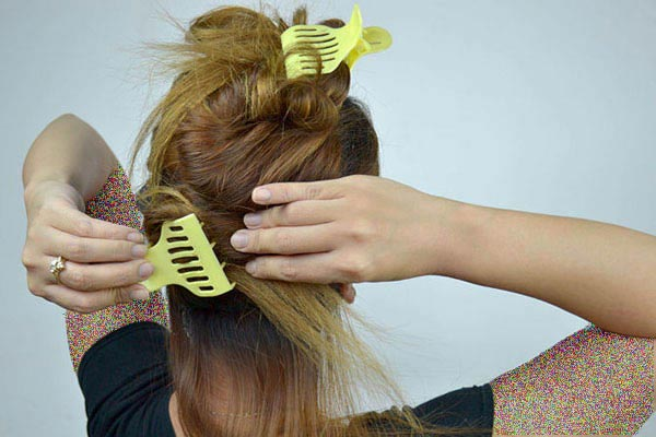 روش صحیح استفاده از اتو مو