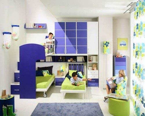 مدل جدید دکوراسیون بسیار زیبا برای اتاق کودک (عکس)