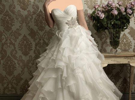 مدل لباس عروس شیک و جدید 2014 (عکس)