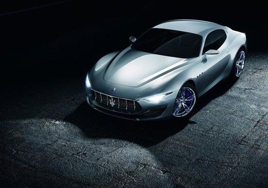 رونمایی از جدیدترین اتومبیل مازراتی (عکس)