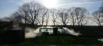 این خانه به طور دستی مه آلود می شود! (عکس)