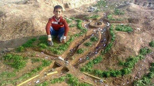 خلاقیت بی نظیر و دیدنی یک کودک ایرانی (عکس)