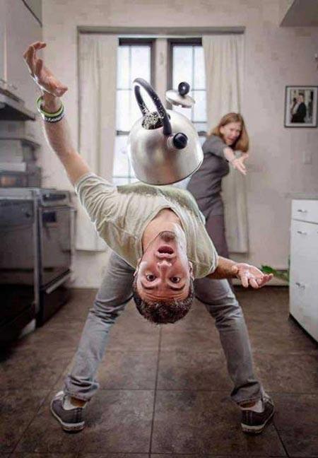 عکس های بسیار خنده دار و طنز از سوژه های گوناگون