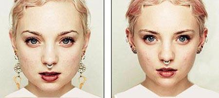 کدام سمت صورتتان زیباتر است؟ (عکس)